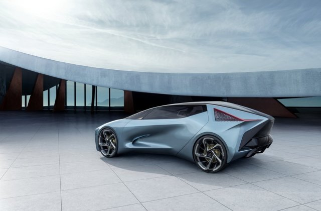 Lexus Lf 30 Ev Concept The Luxe Brand S First Electric Car Vehicle - Medium