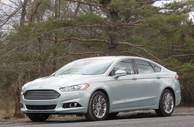 2013 Ford Fusion Hybrid Quick Winter Gas Mileage Test Photo Of A - Medium