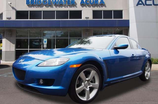 Pre Owned 2004 Mazda Rx 8 Sport Automatic Coupe In Rear Wheel Drive Acura - Medium