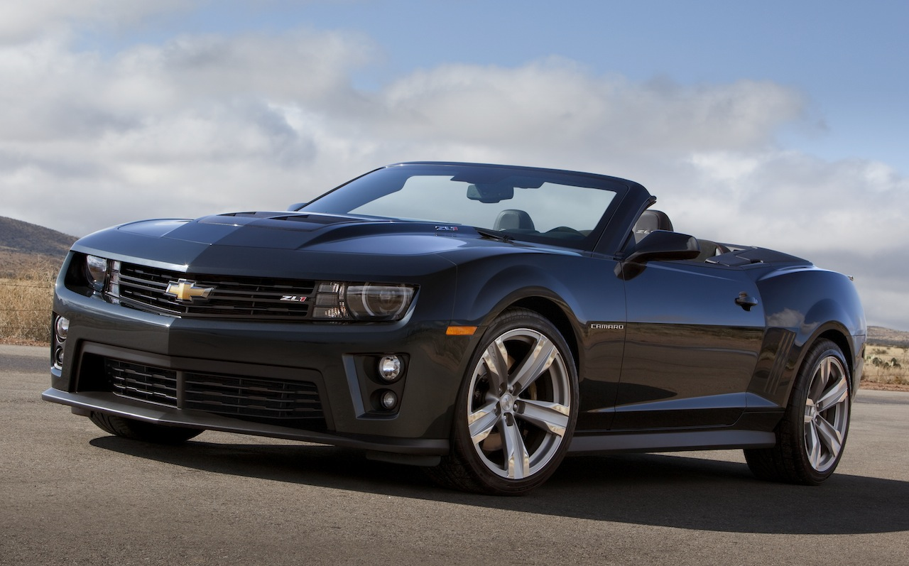 2013 Chevrolet Camaro Zl1 Convertible Auto Cars Concept Photo - Medium