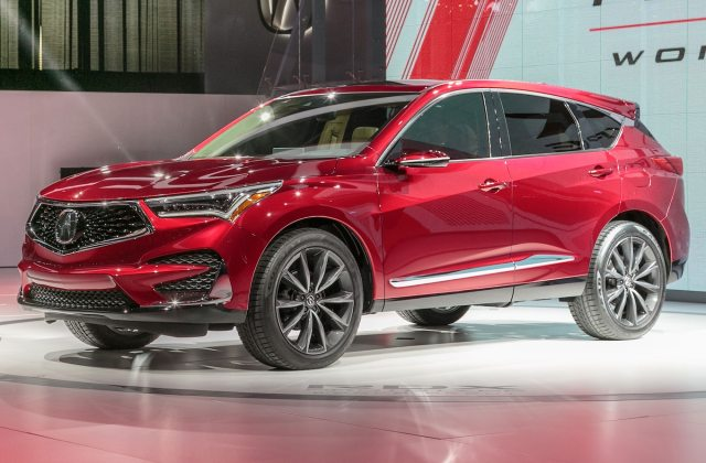 2019 Acura Rdx Prototype First Look Larger Stiffer More Mdx - Medium