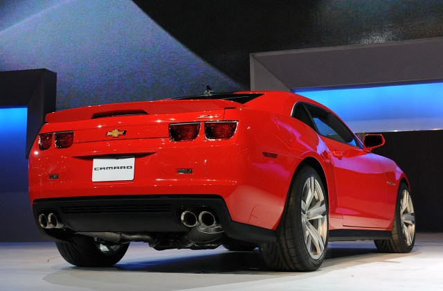 2012 Chevrolet Camaro Zl1 To Get 570hp Plus 425kw Photo - Medium