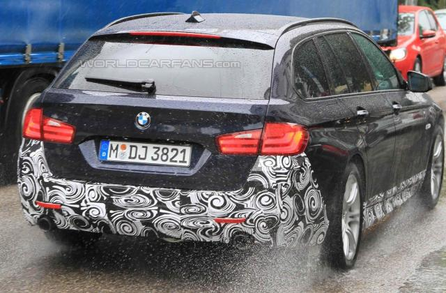 spied 2011 bmw 5 series touring with m sport package wallpapers - medium