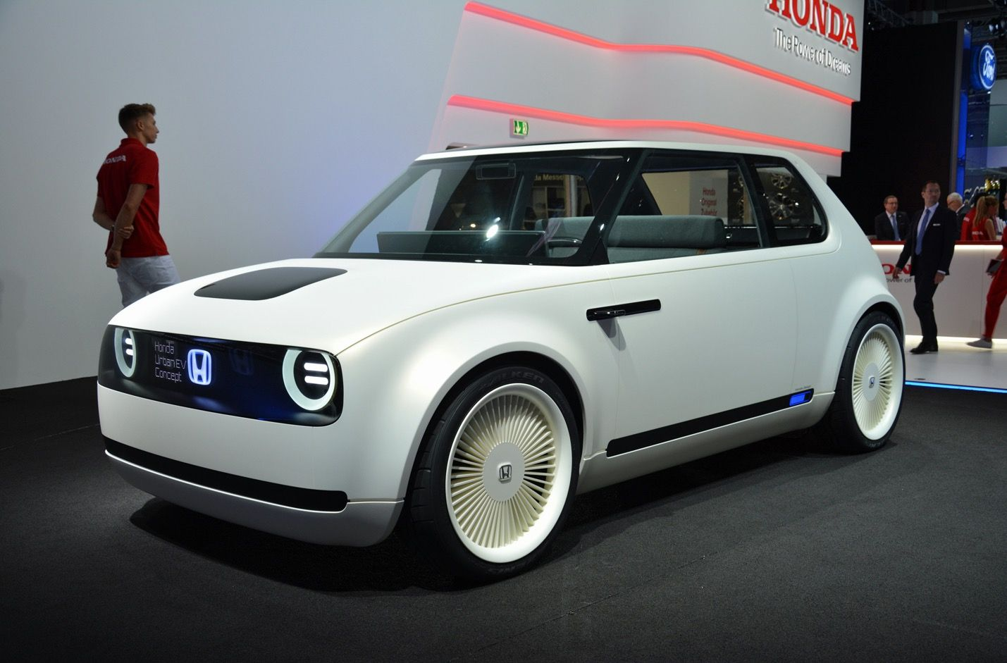 Honda Urban Ev Concept Is A Retro Looking Electric Car Built Vehicle - Medium