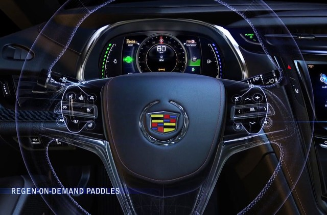Cadillac Elr Puts Energy Control At Driver S Fingertips Heated Steering Wheel - Medium