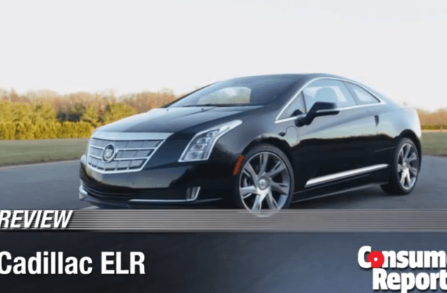 2014 Cadillac Elr Gets Mixed Consumer Reports Review Buy - Medium