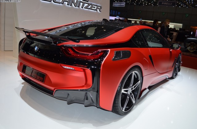 More Photos Of The Hot Inferno Red Bmw I8 By Ac Schnitzer 2017 - Medium