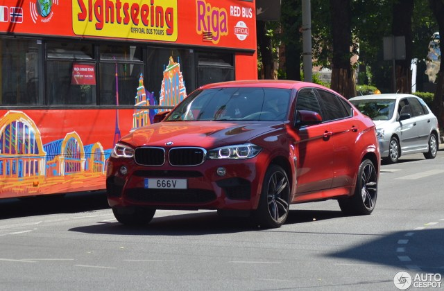 Bmw x6 m f86 2 june 2018 autogespot official photos - medium