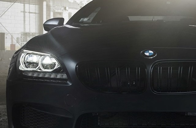 Bmw M6 Coupe F13 Black Car Front View 640x1136 Iphone 5 5s Wallpaper - Medium