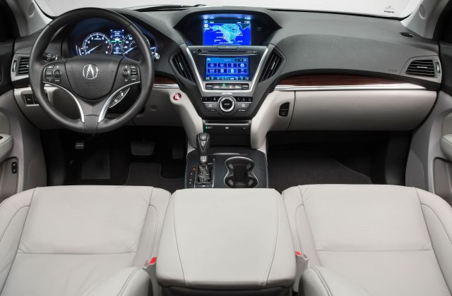 Acura s 2016 mdx gets nine gears more electronic stuff 2014 changes - medium
