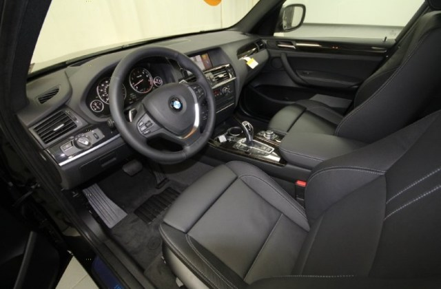 Black Interior 2013 Bmw X3 Xdrive 35i Photo 65938546 - Medium