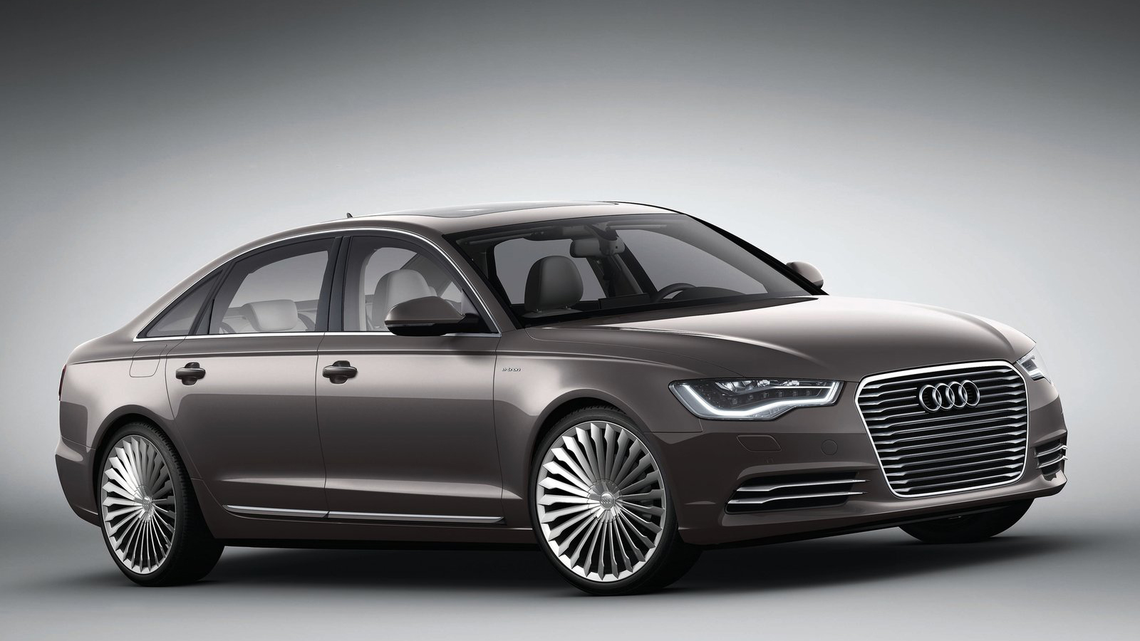 Audi A6 L E Tron Hd Wallpapers The World Of Free Wallpaper - Medium