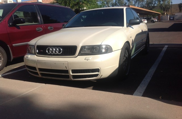 Dad S Pearl White S4 B5 K04 Will Miss Us Audi Version - Medium