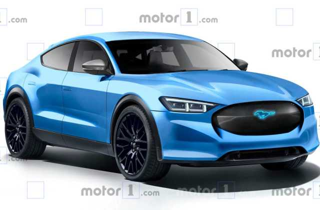 Ford Mustang Inspired Electric Concept Reportedly Coming Vehicle - Medium