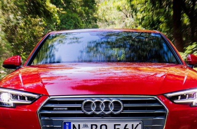 audi a4 sedan front view red speed 750x1334 iphone 8 7 6 s5 5 wallpaper - medium