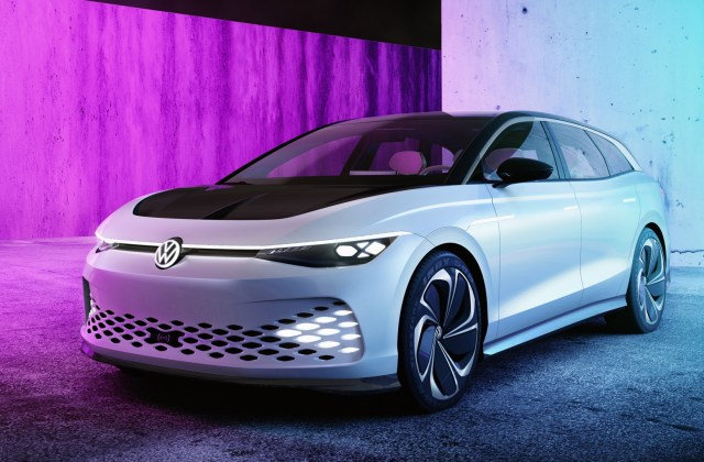 Volkswagen Id Space Vizzion Electric Car Concept Shows Off Vehicle - Medium