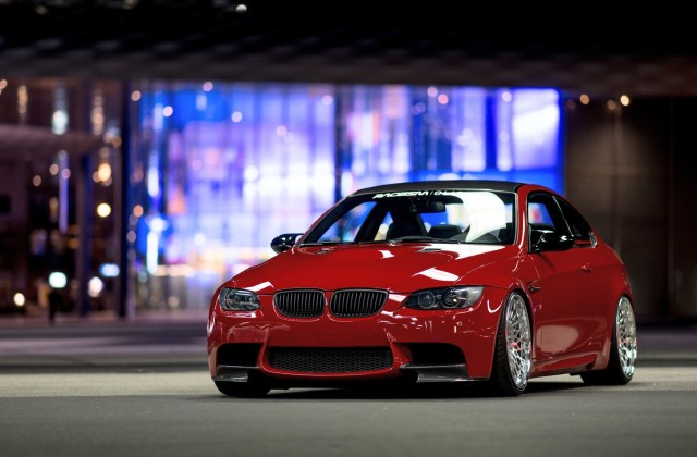 wallpaper bmw e92 m3 red car front view 1920x1200 hd picture 1024x768 - medium