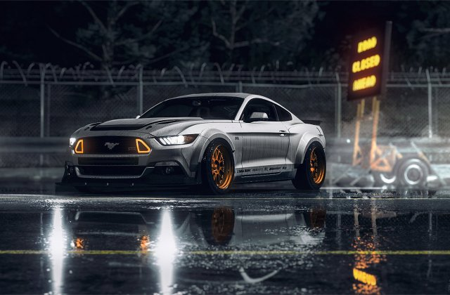 409 Ford Mustang Hd Wallpapers Background Images Gt Wallpaper - Medium