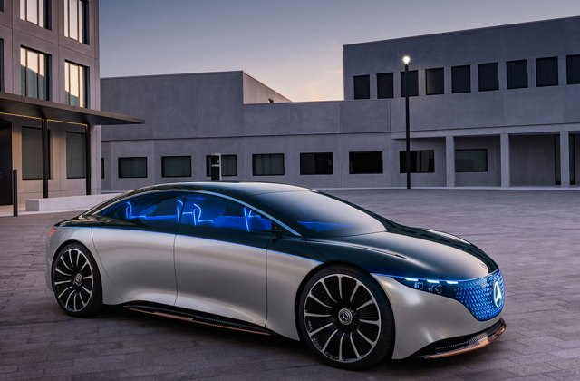 Iaa 2019 Mercedes Benz Vision Eqs Concept Debuts Electric Vehicle - Medium