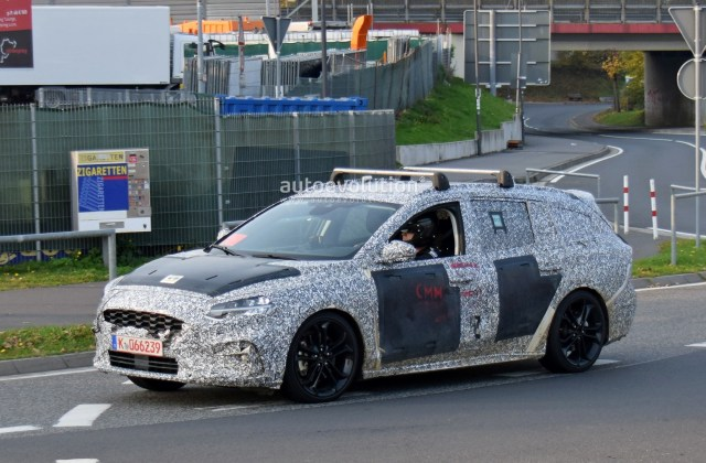 Vid O The New Ford Focus 2019 Spy On The Photo Break - Medium