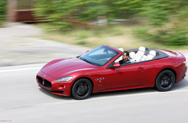 Maserati Grancabrio Sport 2012 Widescreen Exotic Car Picture - Medium