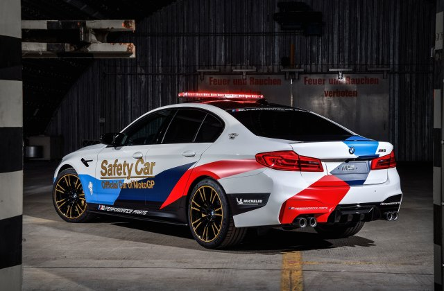 Wallpaper 4k Bmw M5 Motogp Safety Car Wallpapers For Android - Medium