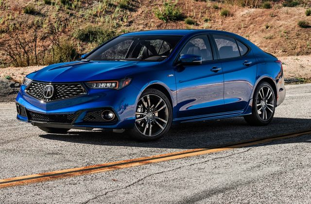2018 acura tlx a spec first test review actually sort of sporty car models - medium