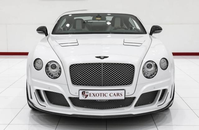 Bentley Continental Gt Mansory Kit 1 Of 15 In The World 2012 Gtc Le Ii - Medium