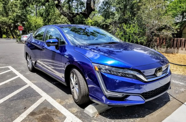 The Honda Clarity Electric Is Family Friendly Ev We Have Cadillac Elr Review Car And Driver - Medium