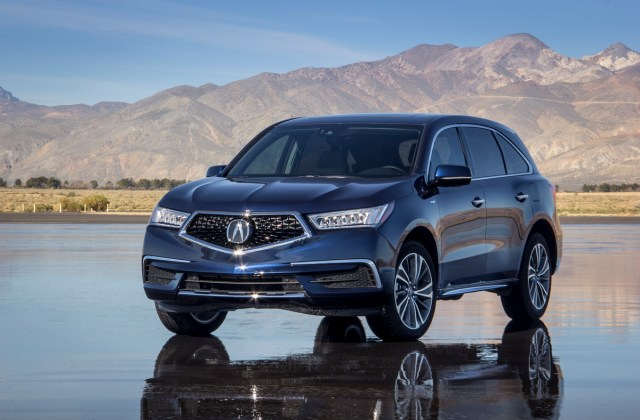 The 2017 Acura Mdx Sport Hybrid Is To Have Here Forum - medium