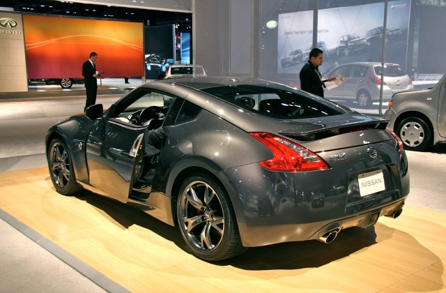 nissan 370z 40th anniversary edition at chicago auto show 2010 - medium