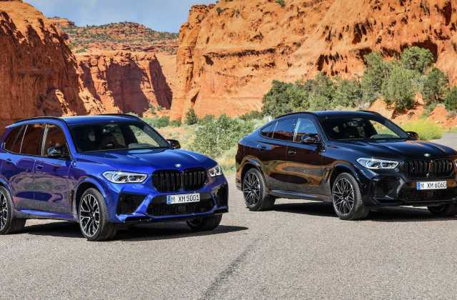 Bmw x5 m x6 revealed with up to 617 bhp official photos - medium