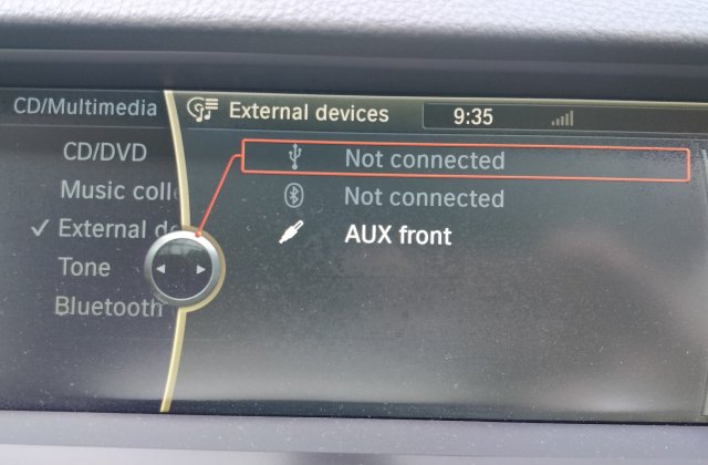 F10 2011 Stopped Reading Music From Usb And Phone Bmw 7 Series Pairing - Medium