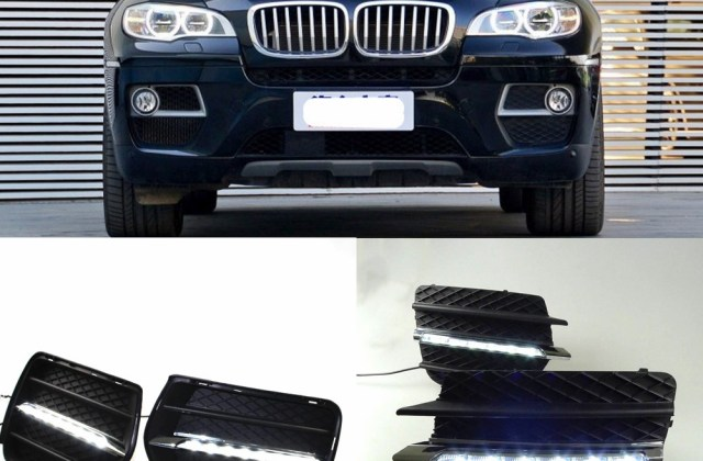 2019 Wholesale 12v Abs Front Fog Lamps For Bmw X6 E71 2008 2009 2010 2011 2012 2013 White Led Daytime Running Lights Drl From Suozhi1991 210 88 Photos - Medium