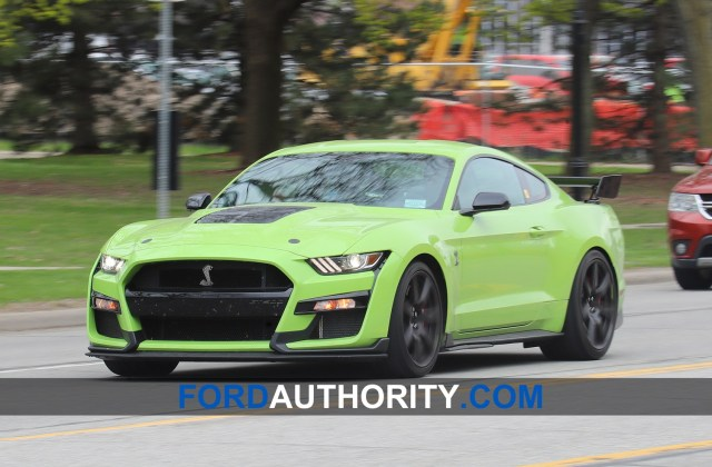 Grabber Lime 2020 Mustang Shelby Gt500 In The Wild Photos Ford Gt Photo Gallery - Medium