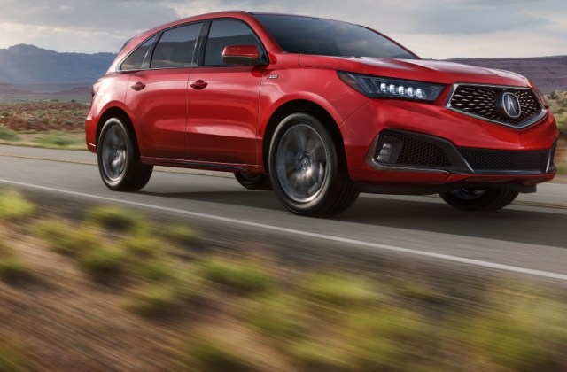 2019 Acura Mdx Review All Wheel Drive - Medium