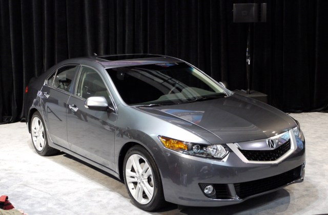 Auto Cars Wallpaper 2011 Chicago Show 2009 2010 Acura Tsx - Medium