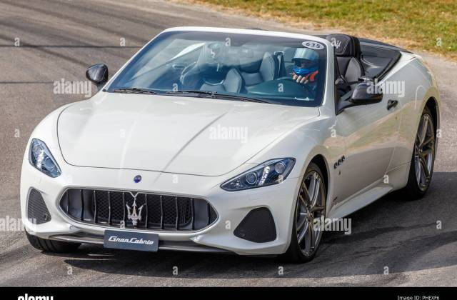 Maserati Convertible Stock Photos 2012 Grancabrio Sport - Medium