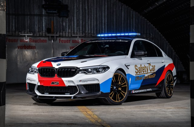 2018 Bmw M5 Motogp Safety Car 4k 2 Wallpaper Hd For Android - Medium