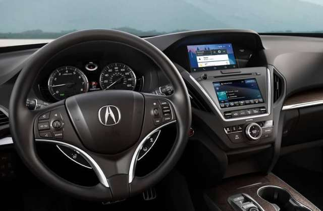 2019 Acura Mdx Packages With Technology Package - Medium