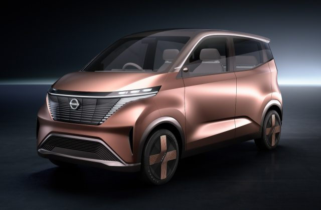 The Nissan Imk Concept Electric Car Is For Trendy Urbanites Vehicle - Medium