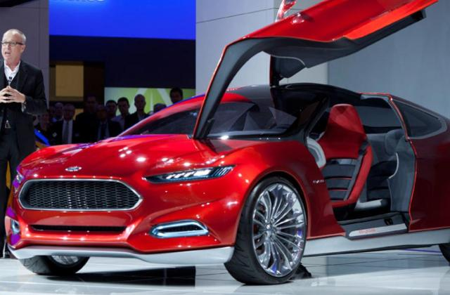 Automotive Design Returns As Great Differentiator Wardsauto 2011 Ford Evos Concept - Medium