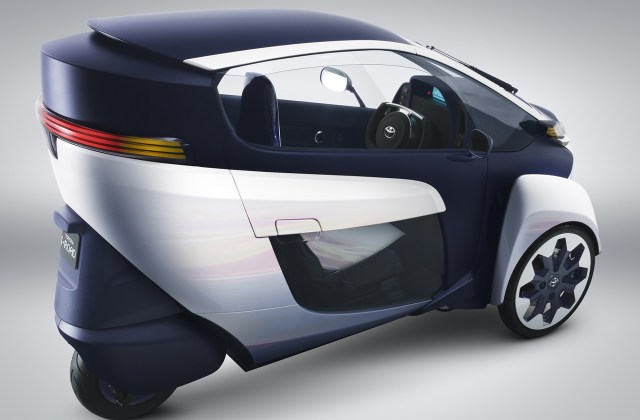 Toyota Iroad Electric Personal Mobility Vehicle Concept 2013 - Medium