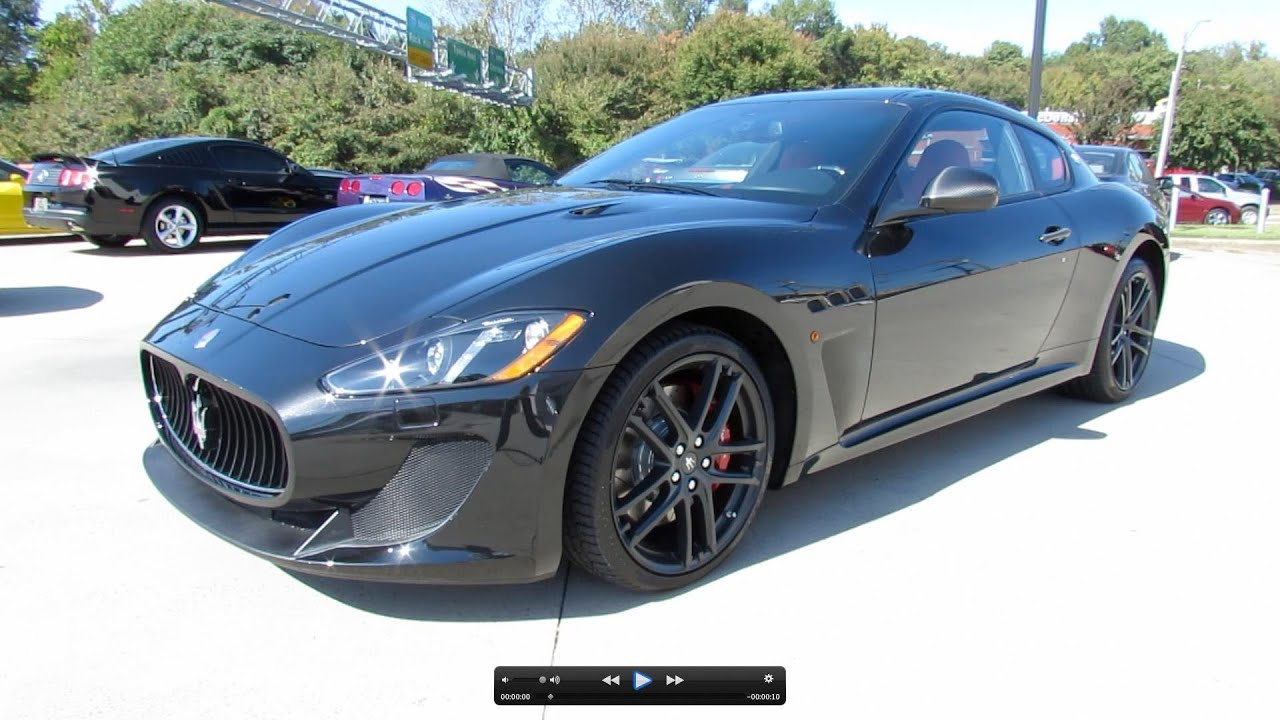 2013 Maserati Granturismo Mc Sport Line Start Up Exhaust And In Depth Review Grancabrio - Medium