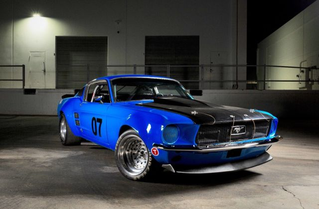 Great 1967 Ford Mustang Fastback Race Car 2018 2019 Photo - medium