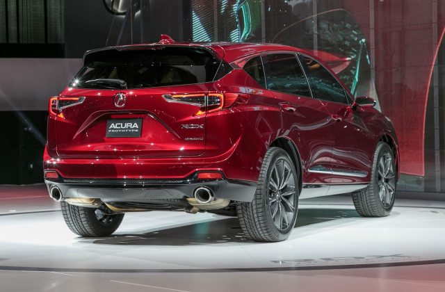 2019 acura rdx prototype first look larger stiffer more review - medium