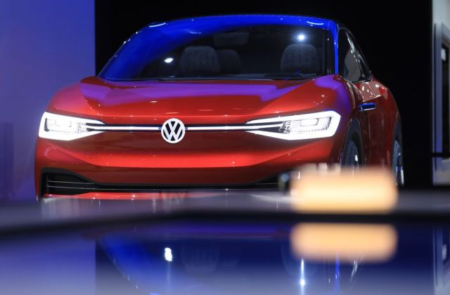 Vw To Produce Electric Cars At Its Only U S Plant Bloomberg Concept Vehicle - Medium