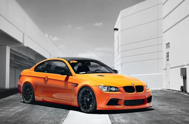 bmw cars orange supercars selective coloring supercharged m3 wallpaper 1024x768 - medium