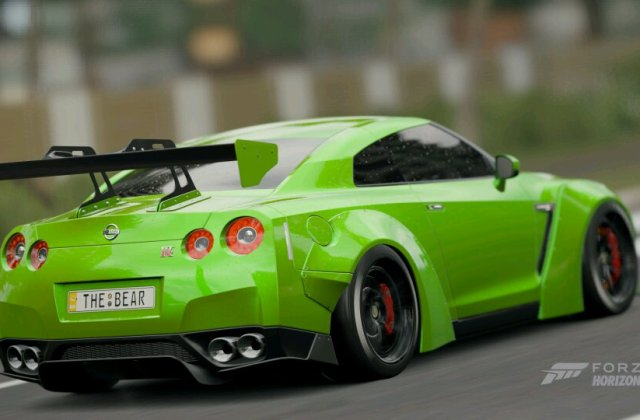 2013 Nissan Gtr Black Edition Fh3 Gt R - medium