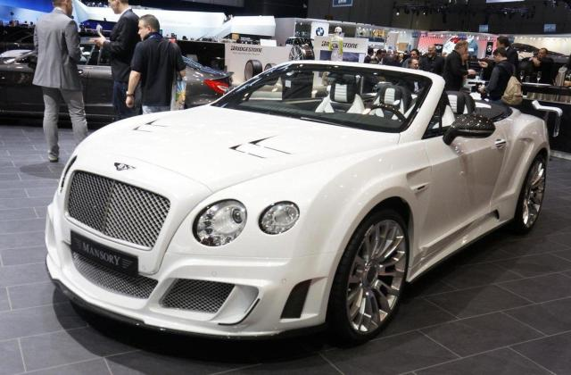 Redesigned Bentley Continental Gt By Mansory World Debut In 2012 Gtc Le Ii - Medium